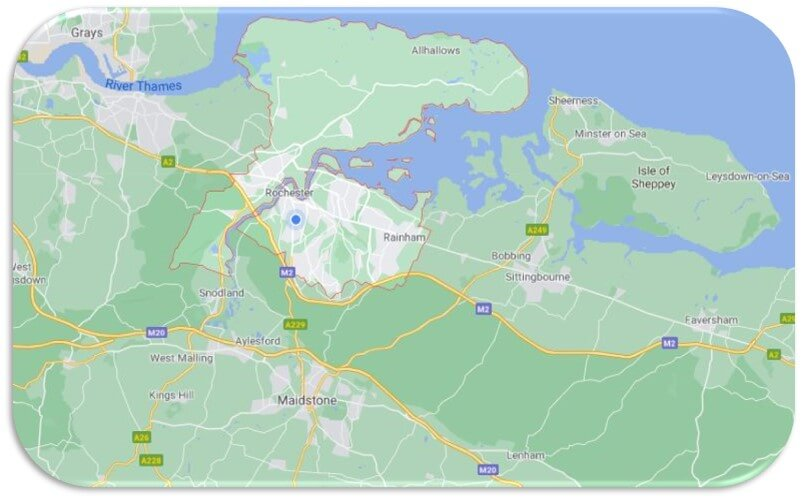 Reliable Plumbers Map Service Area